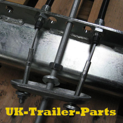 Threaded single axle compensator