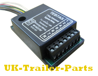 7 way universal bypass relay - right side