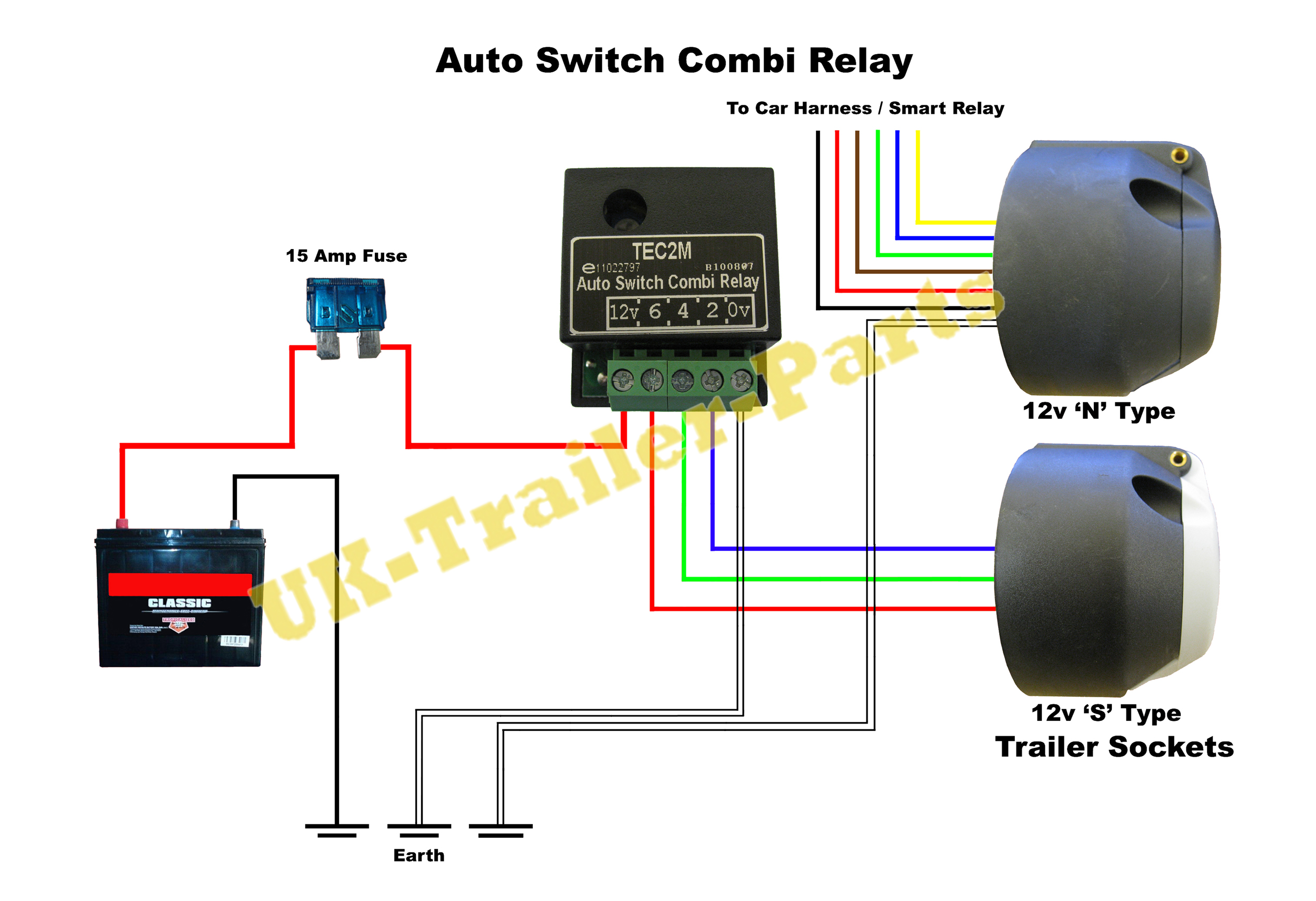 Tec2m Auto Switch Combi Relay Wiring Diagram