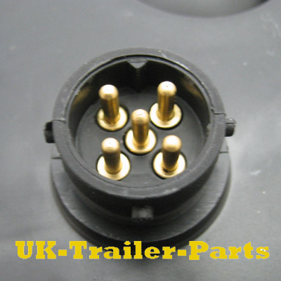 Aspock 5 pin Bayonet socket