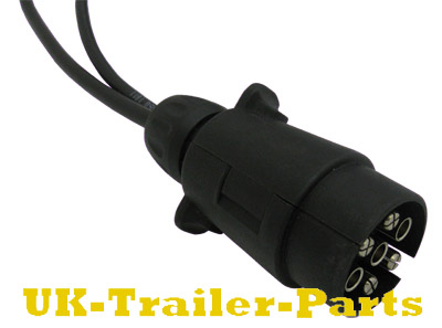 Front of aspock trailer light cable